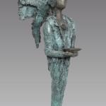 Gabriël, Kieta Nuij beelden in brons