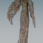 'Icarus', Kieta Nuij. beelden in brons