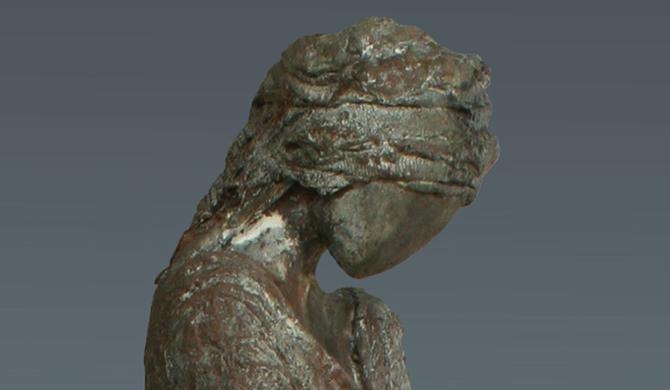 'Persephone', Kieta Nuij, beelden in brons
