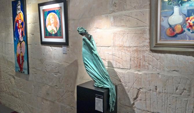 Bronzen beelden van Kieta Nuij bij KIV 2016