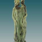 'Passanten' Kieta Nuij beelden in brons