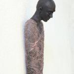 'Observer' detail, Kieta Nuij beelden in brons