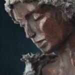 Alina', detail Kieta Nuij bronzen beelden