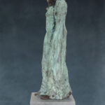 'Stroll', Kieta Nuij bronzen beelden