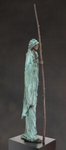 'Pelgrim III' Kieta Nuij bronzen beelden