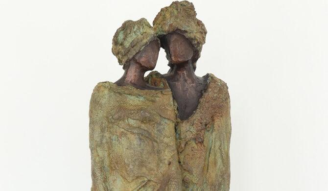 'Stroll' Kieta Nuij beelden in brons