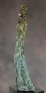 'Dageraad' Kieta Nuij bronzen beelden