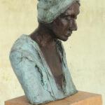 'Young man I' Kieta Nuij bronzen beelden