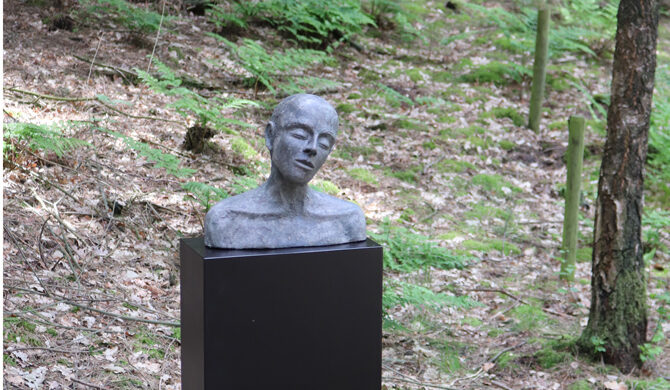 Tête 3 van Kieta Nuij op artwalk Ciro Horn